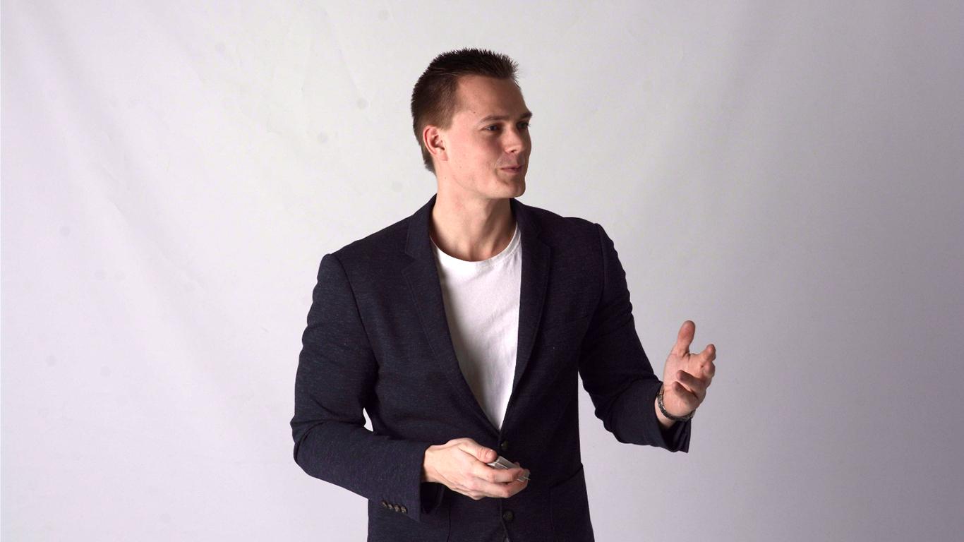 Tryllekunstner Anders Møller