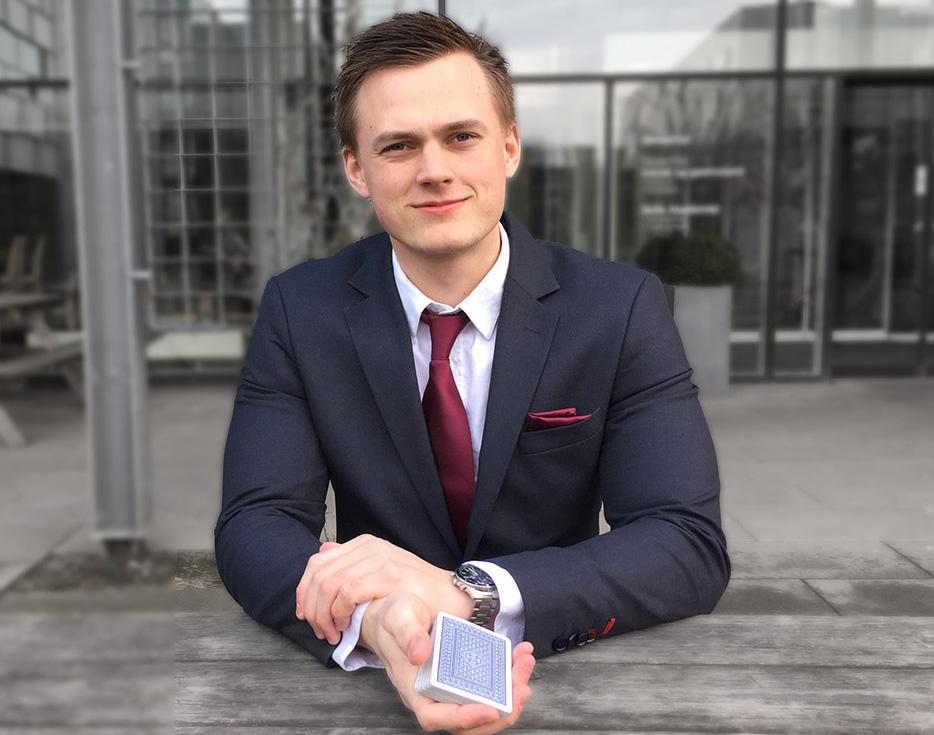 Tryllekunstner Anders Møller til konfirmation